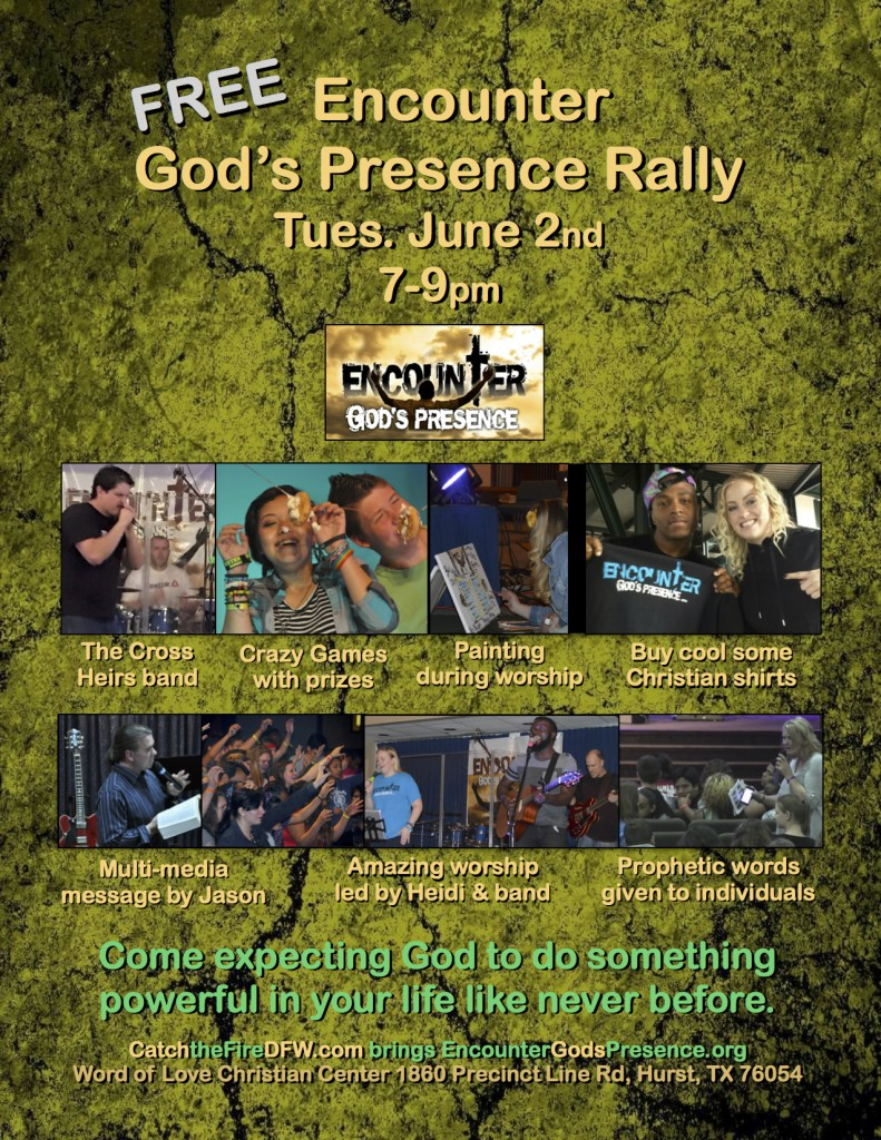 Encounter Catch the Fire Rally 2015